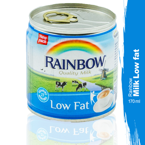 Rainbow Low Fat Tea Milk 170ml