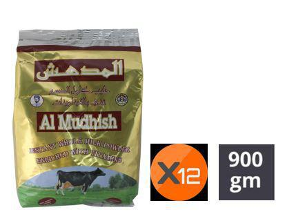 MILK POWDER ALMUDHISH 900GMS X 12 POUCH - BOX