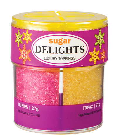 Delights - Sugar - Luxury Toppings - 108gm - Assorted - MarkeetEx