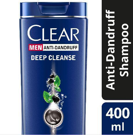 CLEAR MEN  ANTI-DANDRUFF SHAMPOO DEEP CLEANSE 400ML