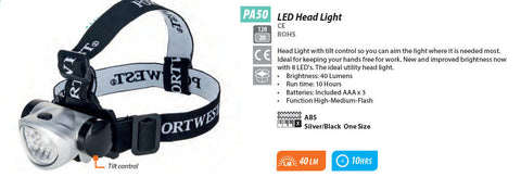 PA50 - LED Head Light