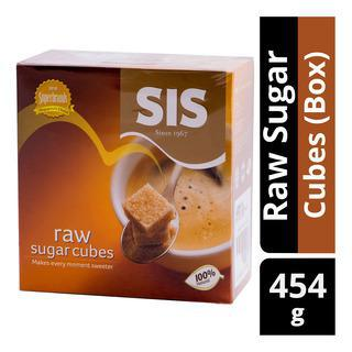 Sis Raw Sugar Cubes -454gm - MarkeetEx