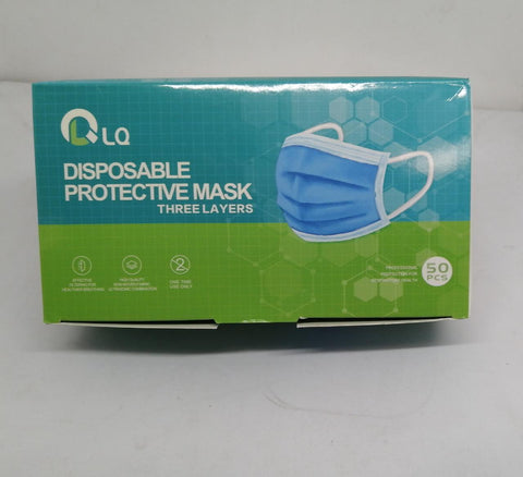 Disposable Face Mask 3 Layers - 50pcs Pack - MarkeetEx