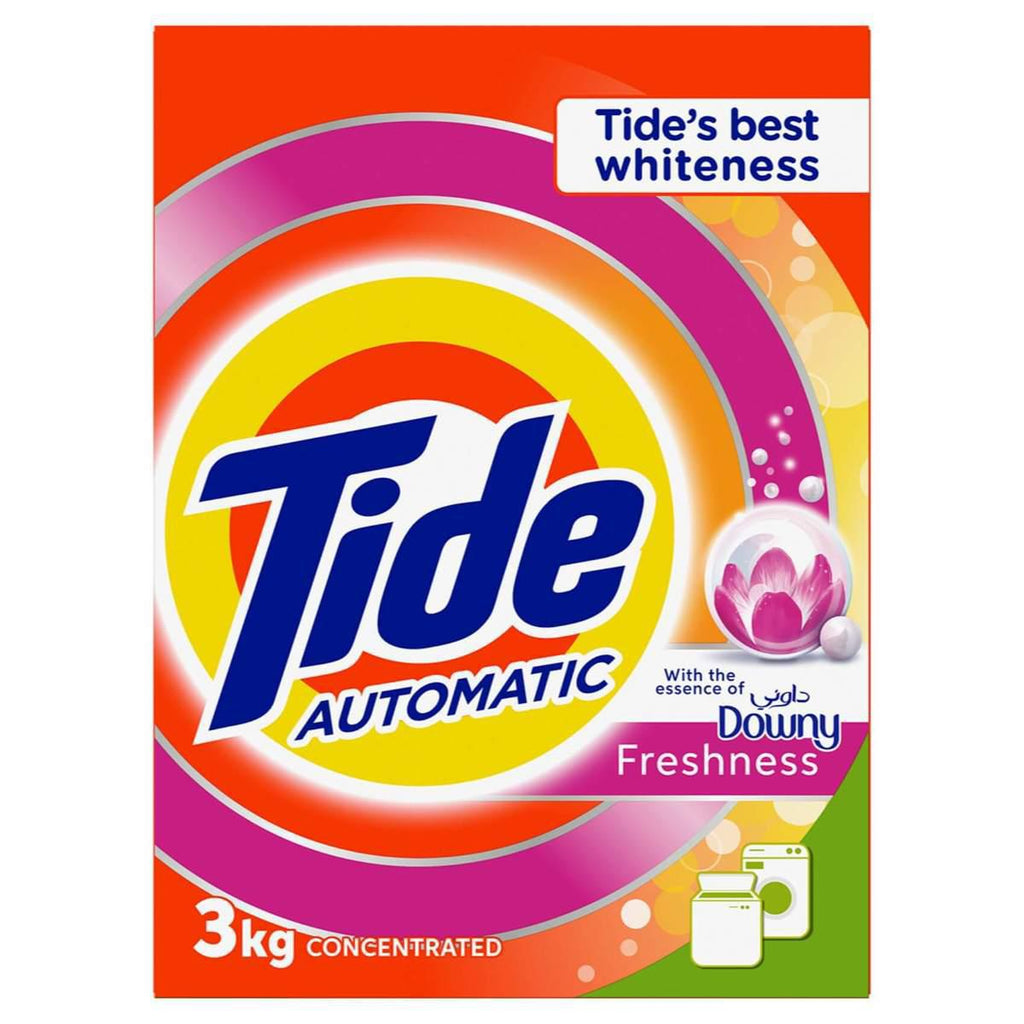TIDE Automatic Downy 3kg - Washing Powder - MarkeetEx