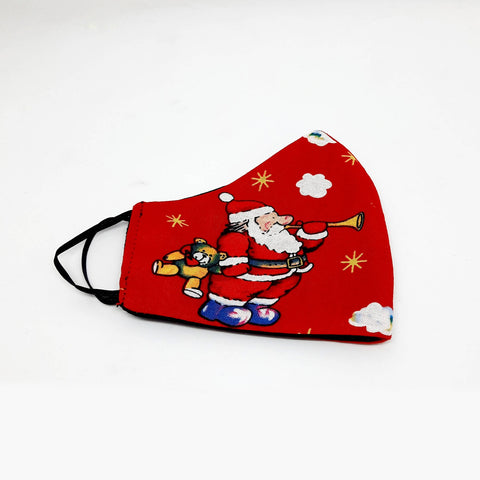 Kids Christmas face mask red - MarkeetEx