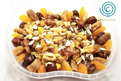 FRUITS WITH NUTS 500g - MarkeetEx