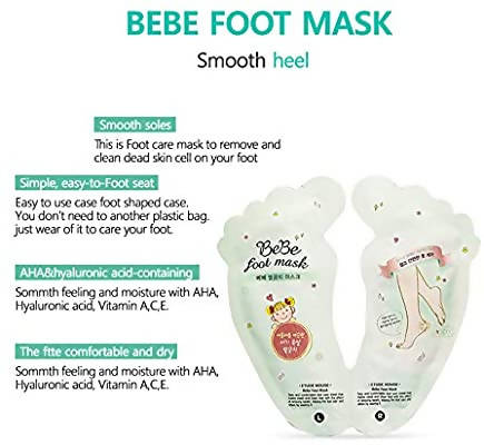 BeBe foot mask - MarkeetEx