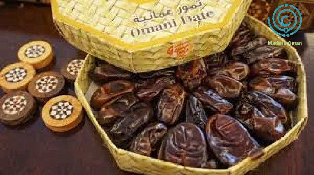 Golden Omani Dates form Tray 250g - MarkeetEx