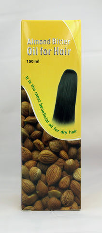 AL BARAKAH ALMOND BITTER HAIR OIL 150 ML - MarkeetEx