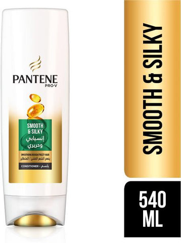 Pantene Conditioner - Smooth & Silky 540ml - بلسم بانتين