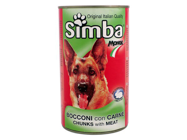 Simba Bocconi Chunks With Meat 415g - قطع اللحم سيمبا