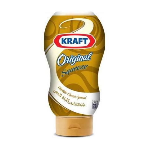 Kraft Cheese Cream Cheddar Squeeze 440GM