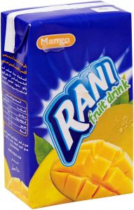Mango Juice Rani 250ml-1pc- عصير مانجو راني