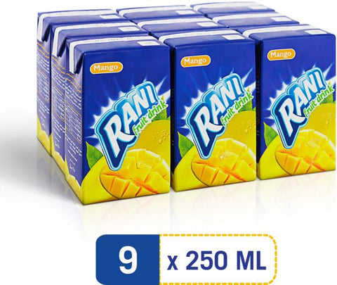 Mango Juice Rani 9X250ML- عصير مانجو راني