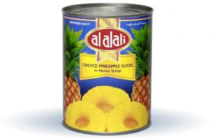AL ALALI PINEAPPLE SLICES CHOICE 567gm In Heavey Syrup