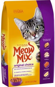Cat Food Original Choice Meow Mix 1.43kg