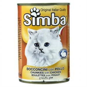 Simba Bocconcini Chunkies with Chicken 415gm