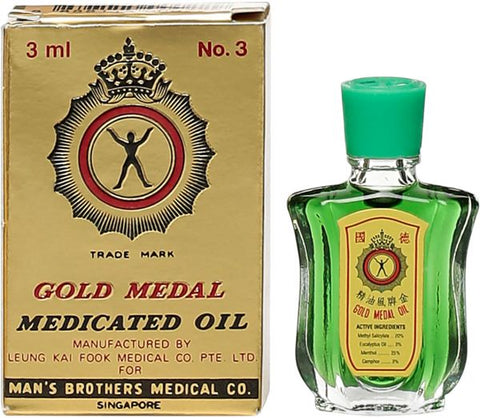 GOLD MEDAL MEDICATED OIL 3ML - MarkeetEx