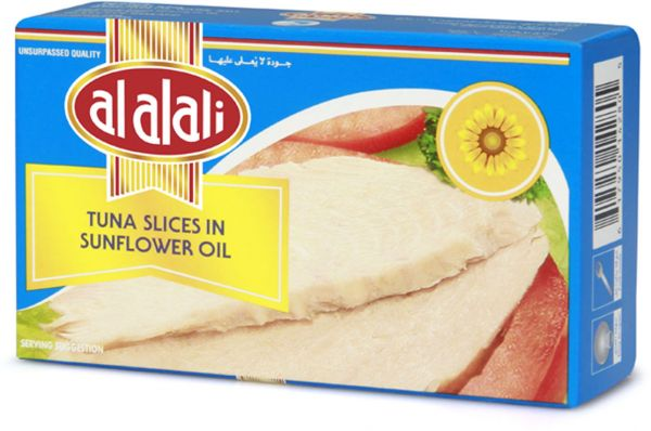 AL ALALI Tuna Slice In Sunflower Oil 100gm