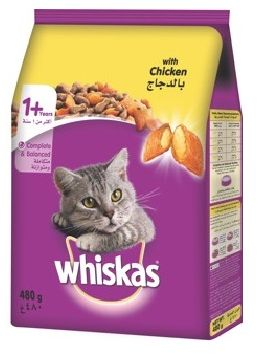 Chicken Whiskas 480gm