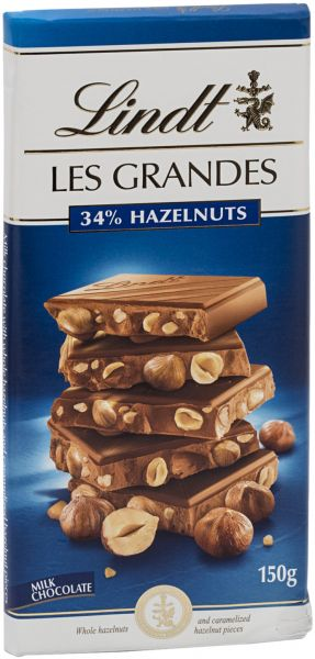 Milk Chocolate with Hazelnut Lindt - MarkeetEx