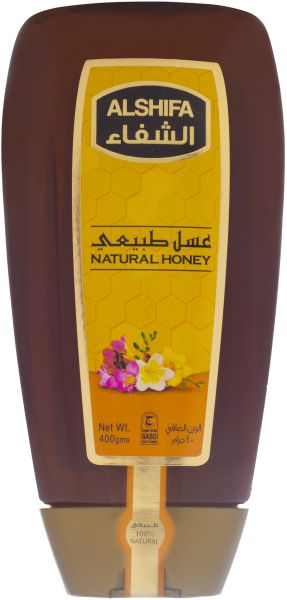 AL SHIFA NATURAL HONEY SQUEEZY 400GMS - MarkeetEx