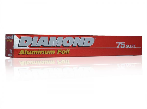 Diamond Aluminium Foil Sq. Feet 75