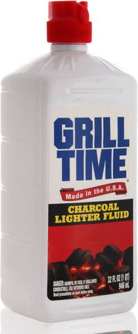 Grill Time Charcoal Fluid 473ml - MarkeetEx