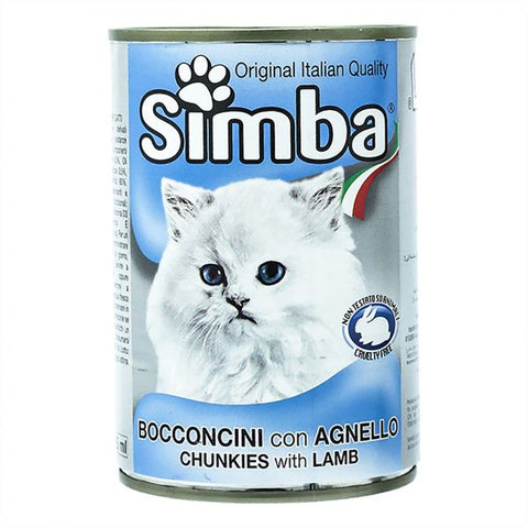 Simba Chunkies with Lamb 415gm