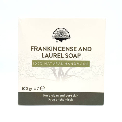 FRANKINCENSE AND LAUREL SOAP