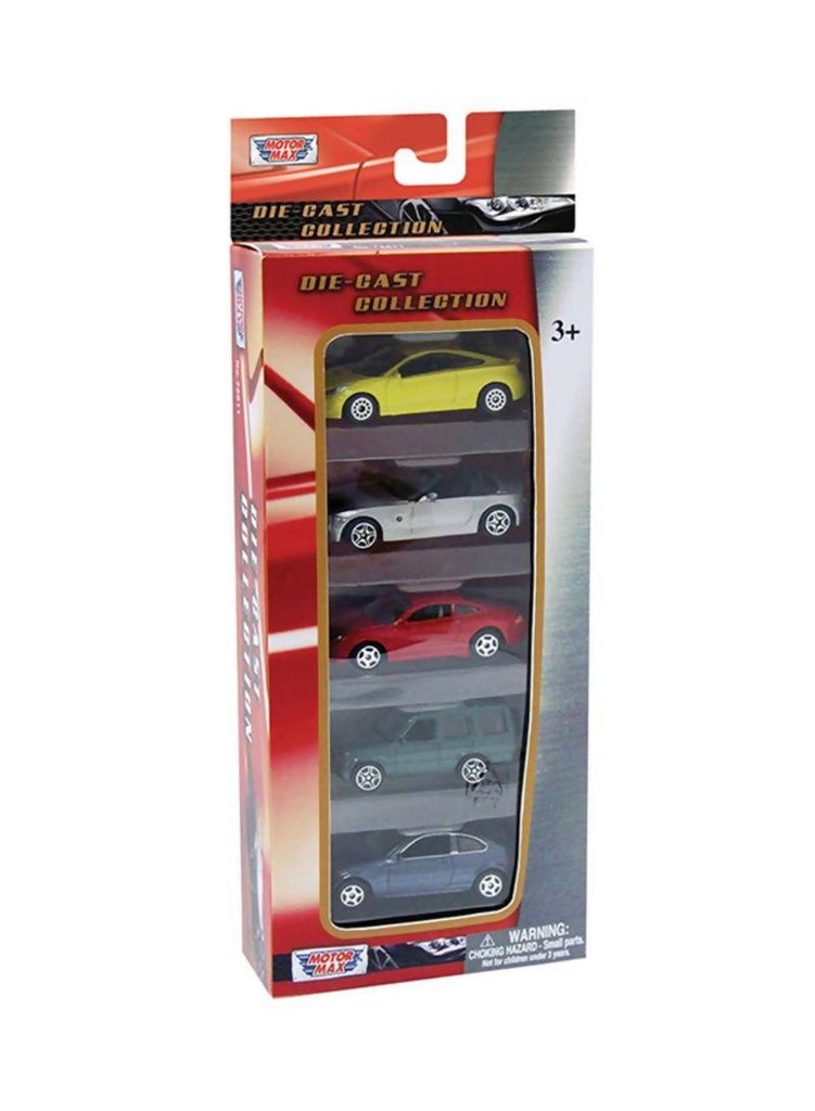 "Die Cast 3"" Vehicle Set 5PC ( All Licensed Cars )"