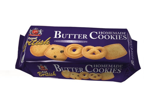 GPR Royal British Homemade Butter Cookies - 72 GM - MarkeetEx