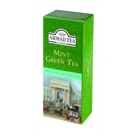 Ahmad Tea Mint Green Tea 25 Tea Bag Pack - MarkeetEx