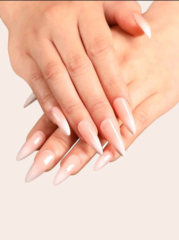 Acrylic Ombre Nails-Almond 24 Pieces - MarkeetEx