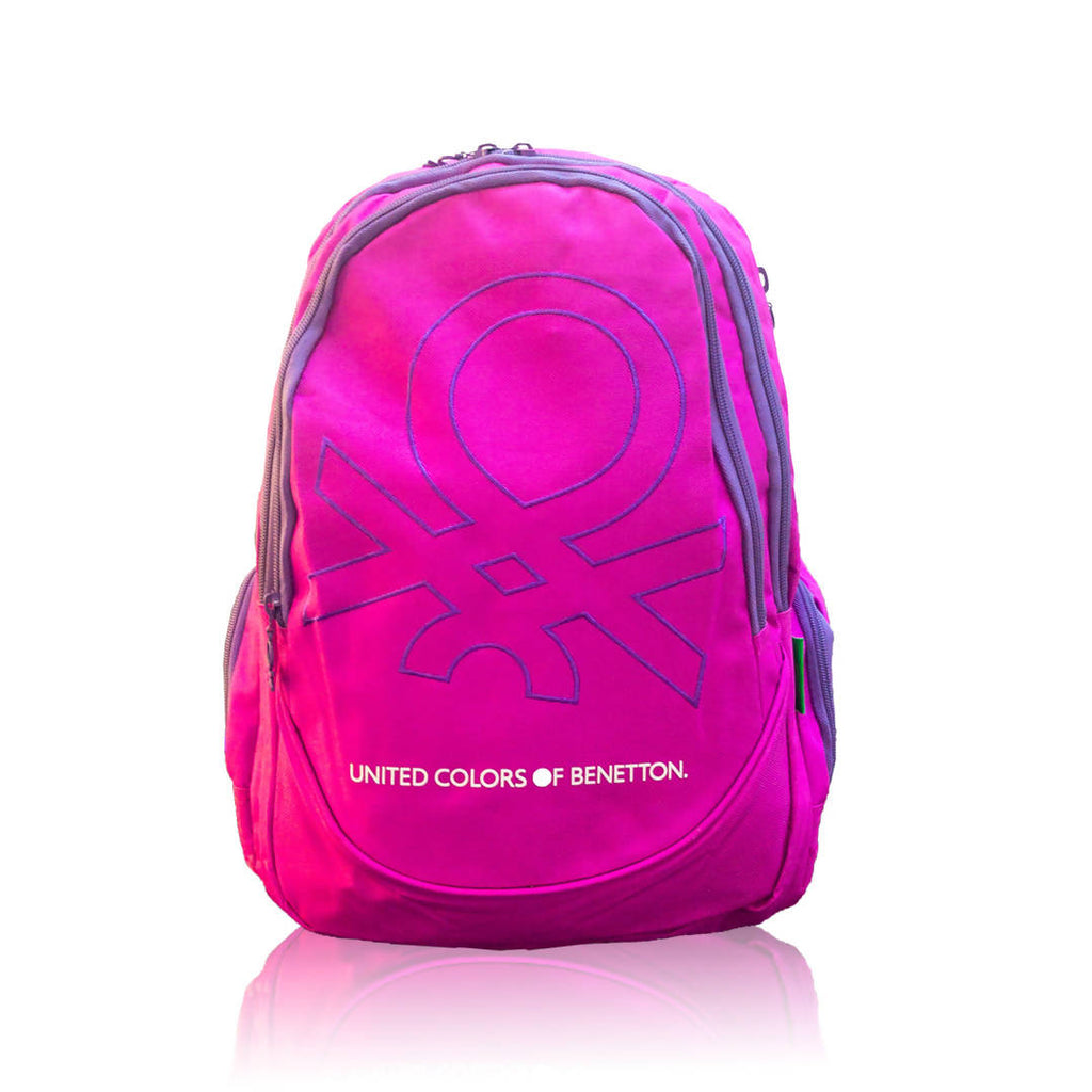 BENETTON COLORS DOUBLE BACKPACK 18''
