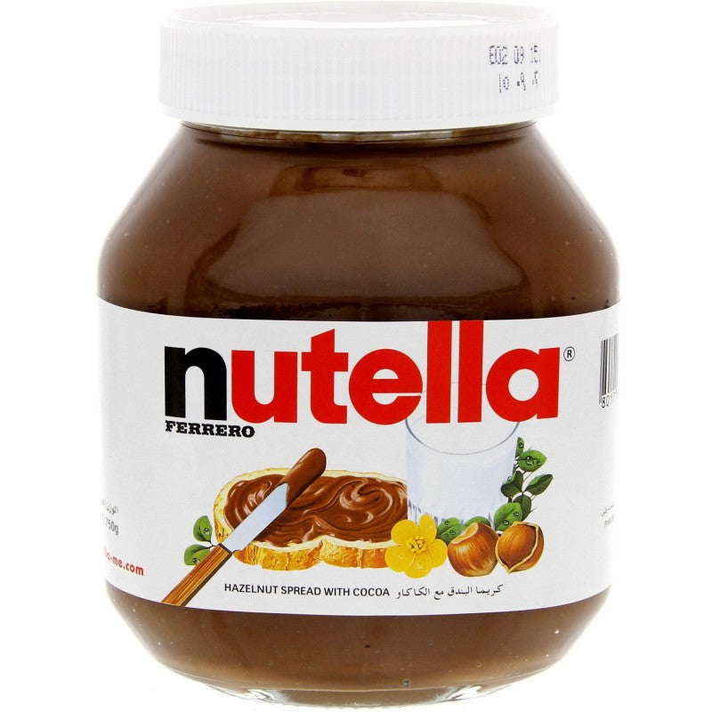 Nutella Hazelnut Chocolate Spread - نيوتيلاX-4-D