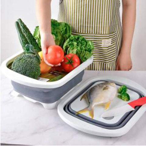 silicone Food cutting board 3in1 30*40*3cm - MarkeetEx