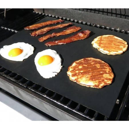 Food Grills Mats Teflon Black 40*33cm (one carton consist of 5 big pieces) - MarkeetEx