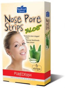 Nose Pore strips ALOE 6/pack