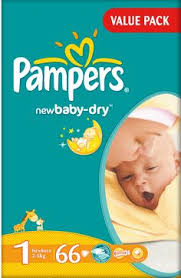 Pampers Baby Dry Diapers - حفاضات للأطفال بامبرز