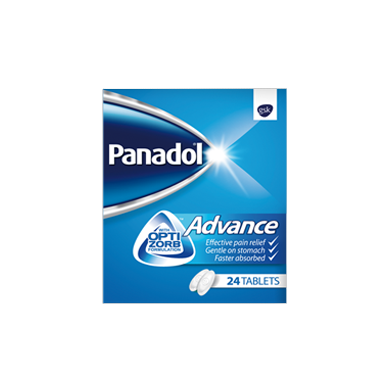Panadol Advance 24 Tablets Pack - باندول ادفانز