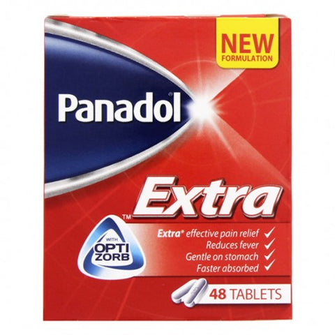Panadol Extra - 48 Tablets Pack- باندول اكسترا