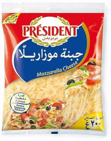 Cheese Mozzarella President 200gm - MarkeetEx