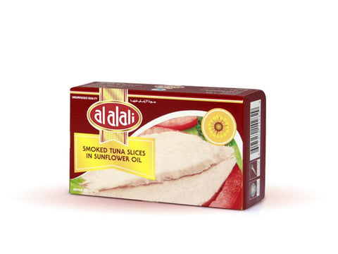 AL ALALI Smoked Tuna Slices In Sunflower Oil 100gm