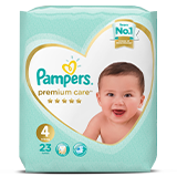 Pampers Premium Care Stage 4 - 23 Daipers - MarkeetEx