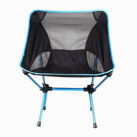 Camping Chair Black & Blue