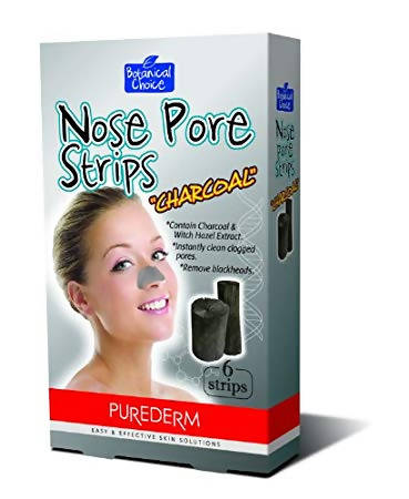 Nose Pore Strips CHARCOAL 6/pkt