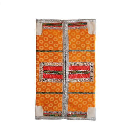 Tissue Case Omani Orange 46 CM * 38 CM - MarkeetEx