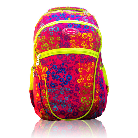 YIGUO SQUARE BACK PACK ZIPPER 3 COMPARTMENTS 18""