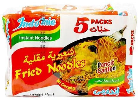 Fries Noodles Indomie Pancit Canton 5 PACK